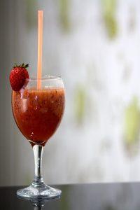 Erdbeersaft Entsafter